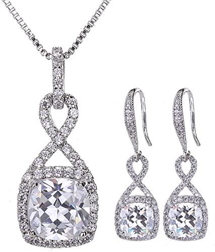 AMYJANE Crystal Jewelry Set – Great Gift for a charming lady