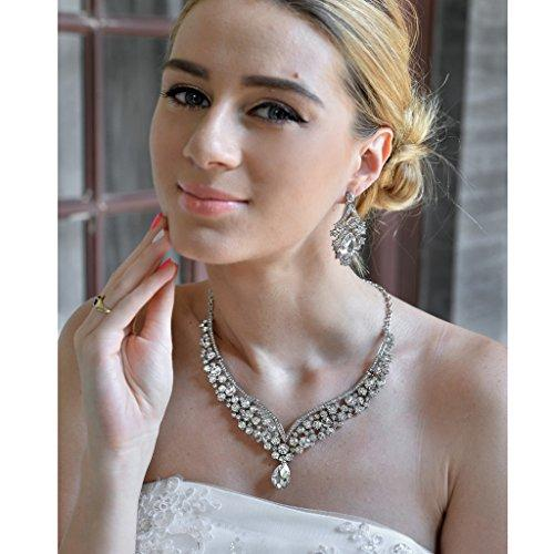 EVER FAITH Austrian Crystal Bridal Jewelry Set