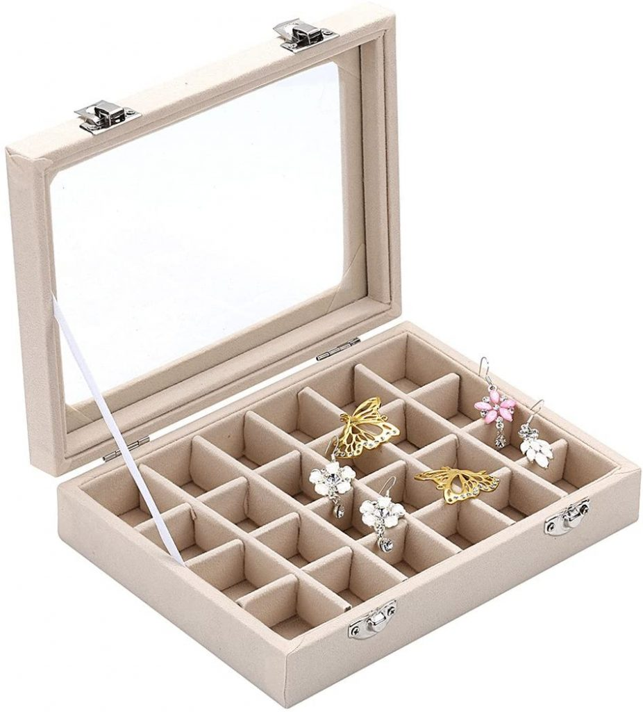 Ivosmart Jewelry Ring Display Organiser