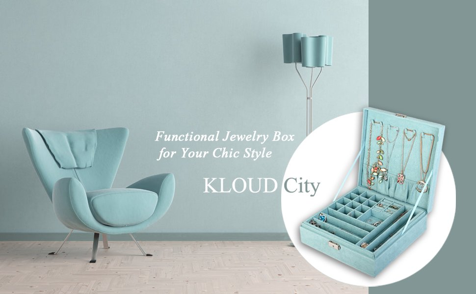 KLOUD City Jewelry Box Organizer