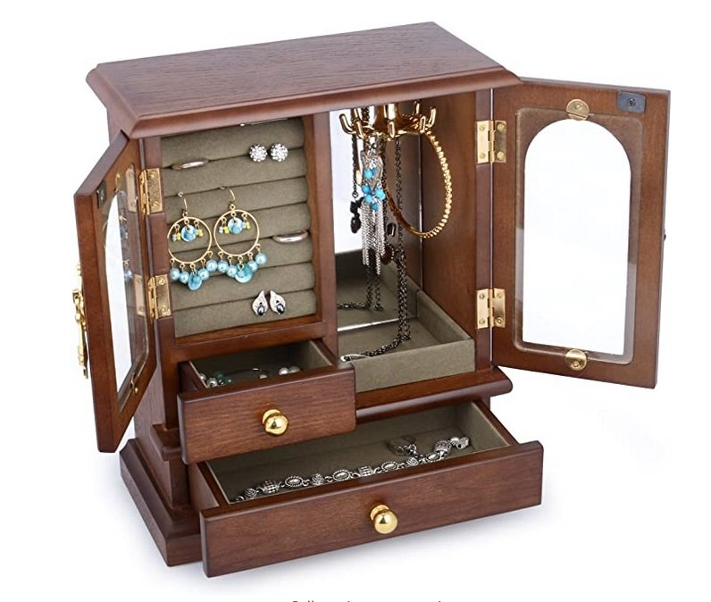 Antique Jewelry Organizer