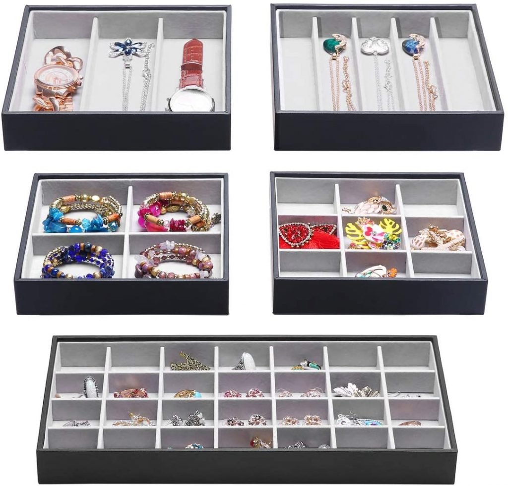 Jewelry Drawer Organizer Trays