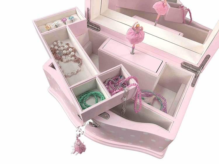 Little Girl Jewelry Box Target